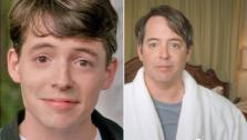 Matthew Broderick appears in a scene from Ferris Buellers Day Off in 1986. The actor in a YouTube video uploaded on January 26, 2012. - Provided courtesy of Paramount Pictures / YouTube