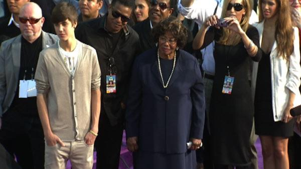 Justin Bieber and Michael Jackson's mother Kath