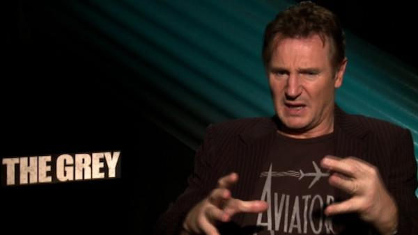 Liam Neeson fought fake, 'scary' wolves in film