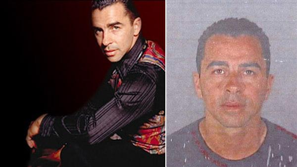 Alex Da Silva, a former choreographer for contestants on the FOX reality show So You Think You Can Dance, appears in this publicity photo (right) and in the mug shot released by the Los Angeles Police Department (left) on Aug. 18, 2008. - Provided courtesy of alexdasilva.com / LAPD