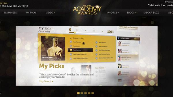Oscar.com, the official website for the 84th Academy Awards - Provided courtesy of Oscar.com