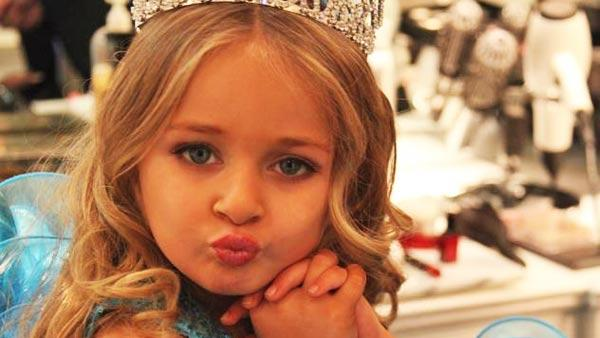 Toddlers and Tiaras star Isabella Barrett appears in a photo posted on her official Facebook page on January 2, 2012. - Provided courtesy of Facebook.com/pages/Isabella-Barrett