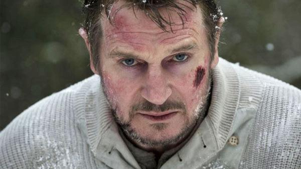 Liam Neeson appears in a still from The Grey. - Provided courtesy of OpenRoad / Kimberley French