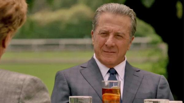 Dustin Hoffman appears in a scene from the HBO series Luck. - Provided courtesy of HBO
