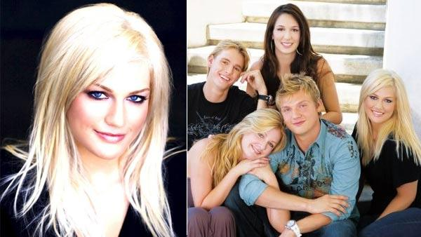 Leslie Carter, sister of Aaron and Nick Carter, dies at 25 - 02/01 ...