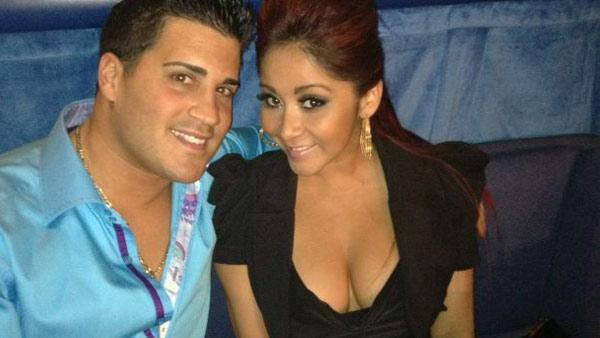 Nicole Snooki Polizzi from MTV reality show Jersey Shore and her boyfriend Jionni LaValle appear in a photo posted on the reality stars official Twitter page on January 28, 2012. - Provided courtesy of Twitter.com/snooki