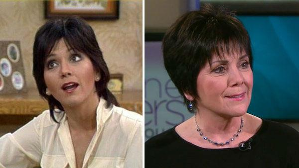 Joyce DeWitt appears in a still from 'Three's Company. / Joyce DeWitt appears in a still from the webseries, 'Suzanne Somers: Breaking Through' on February 2, 2012.