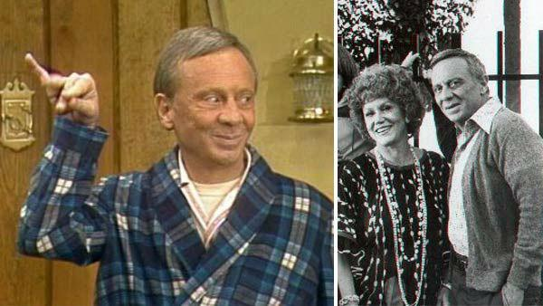 Norman Fell appears in a still from 'Three's Company / Norman Fell appears in a promotional photo for 'The Ropers.'