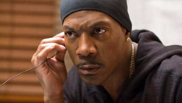 Eddie Murphy appears in a scene from the 2011 film, Tower Heist. - Provided courtesy of Universal Studios / David Lee