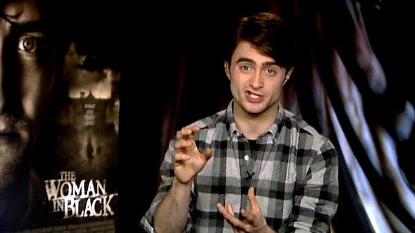 Daniel Radcliffe: it was easy to act afraid in 'The Woman in Black'
