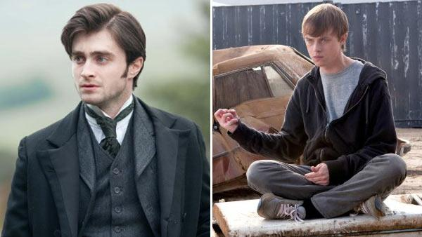 Daniel Radcliffe appears in a still from The Woman in Black. / Dane DeHaan appears in a still from The Chronicle. - Provided courtesy of CBS Films / Universal Pictures