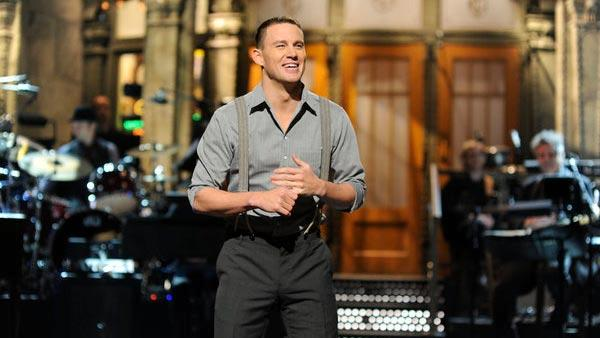 Actor Channing Tatum hosts Saturday Night Live on February 4, 2011. - Provided courtesy of NBC