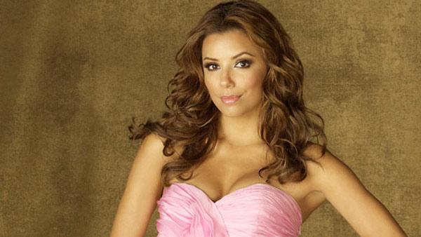 Eva Longoria appears in a promotional image for 'Desperate Housewives.'