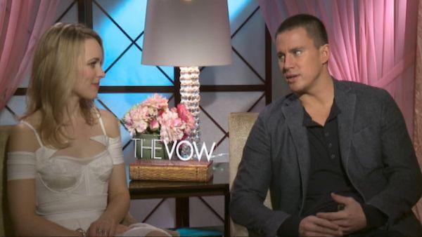 Rachel McAdams, Channing talk chocolate