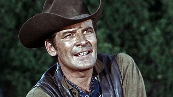 Peter Breck appears in a still from The Big Valley. - Provided courtesy of ABC