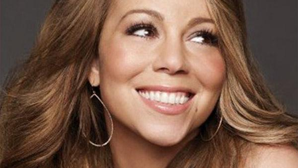 Mariah Carey appears in a photo posted on her Facebook page on May 8, 2010.