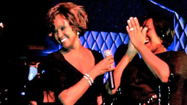 Whitney Houston gives final performance