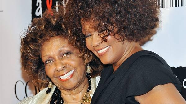 Singer Cissy Houston, left, and her daughter Whitney Houston arrive at the Keep A Child Alive Black Ball at the Hammerstein Ballroom on Thursday, Sept. 30, 2010 in New York. - Provided courtesy of AP / Evan Agostini