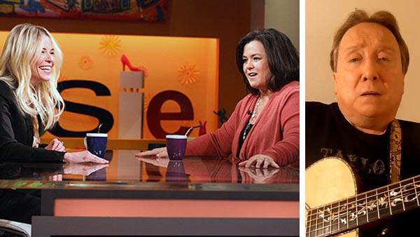 Chelsea Handler (left) appears on The Rosie Show with Rosie ODonnell (right) on an episode that aired on OWN on Feb. 8, 2012. / Actor Michael Gogin apears in a scene from his music video Thank You (For Letting Me Be Who I Am) on Feb. 14, 2012. - Provided courtesy of OWN / youtube.com/watch?vCJKTuzBg3Vs
