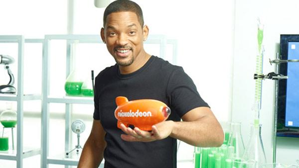 Will Smith appears in a promotional photo for the 2012 Kids Choice Awards, which he is set to host. - Provided courtesy of Nickelodeon / Viacom International