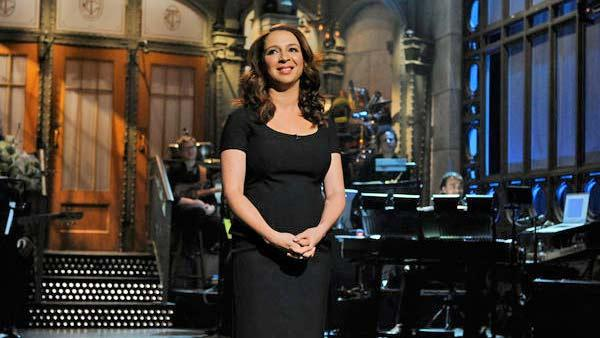 Maya Rudolph appears in a still from the February 18 episode of Saturday Night Live. - Provided courtesy of NBC