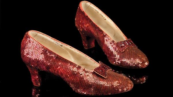 Academy Museum of Motion Pictures has aquired a pair of ruby slippers from The Wizard of Oz. - Provided courtesy of Profiles in History / Lou Bustamante