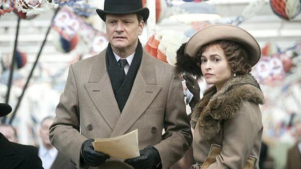 Colin Firth and Helena Bonham Carter are seen in 'The King's Speech.'