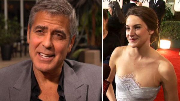 George Clooney: Woodley will still win awards