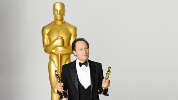 Billy Crystal appears in a promotional photo for the 2012 Academy Awards. He is hosting the annual ceremony for the ninth time. - Provided courtesy of ABC
