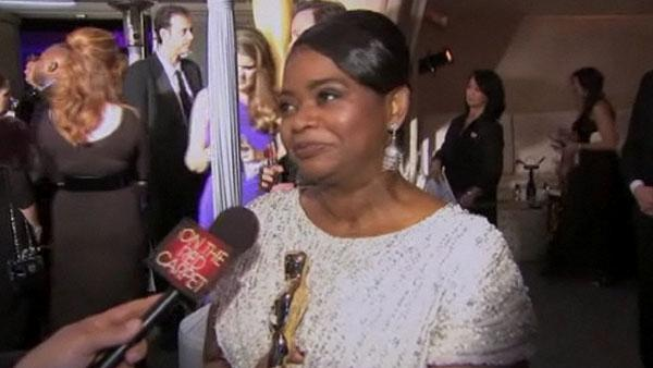 Octavia Spencer talks first Oscar win