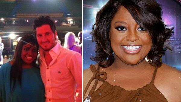 Sherri Shepherd and xxx appear in a photo posted on her Twitter page after the season 14 cast of 'Dancing With The Stars' was announced. / Sherri Shepherd appears in a promotional photo for the 14th season of the ABC show 'Dancing With the Stars.'
