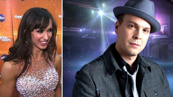 Karina Smirnoff talks to OnTheRedCarpet.com after performing with J.R. Martinez on 'Dancing With The Stars' on Nov. 8, 2011. / Gavin DeGraw appears in a promotional photo for the 14th season of the ABC show 'Dancing With the Stars.