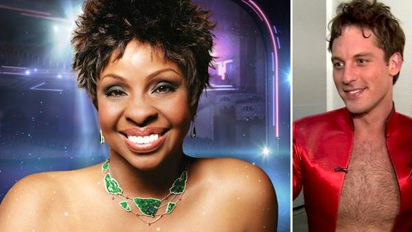 Gladys Knight appears in a promotional photo for the 14th season of the ABC show 'Dancing With the Stars.' / Tristan MacManus talks to OnTheRedCarpet.com after performing with Nancy Grace on 'Dancing With The Stars' on Oct. 10, 2011.