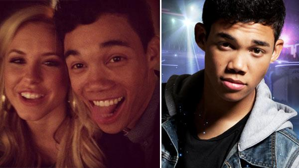 Roshon Fegan and Chelsie Hightower appear in a photo posted on his Twitte