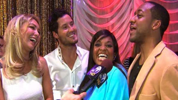 Sherri Shepherd busts a dance move