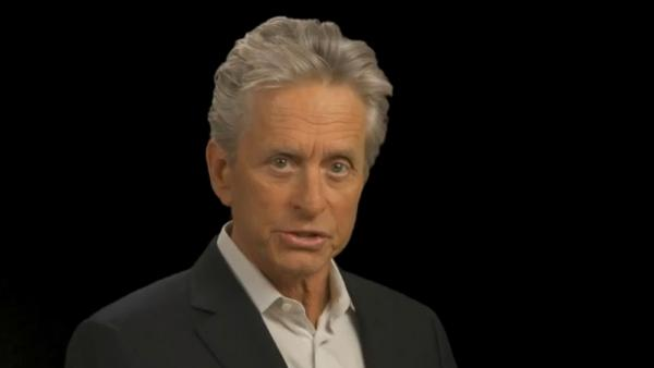 Michael Douglas appears in the FBIs Financial Fraud Public Service Announcement PSA, as seen in the groups YouTube video that was posted on Feb. 24, 2012. - Provided courtesy of FBI / youtube.com/user/fbi