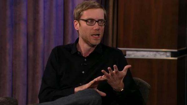 Stephen Merchant appears on ABC's 'Jimmy Kimmel Live!' in January 2012.