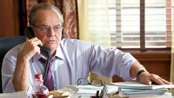 Jack Nicholson appears in a scene from the 2011 film How Do You Know? - Provided courtesy of Columbia Pictures