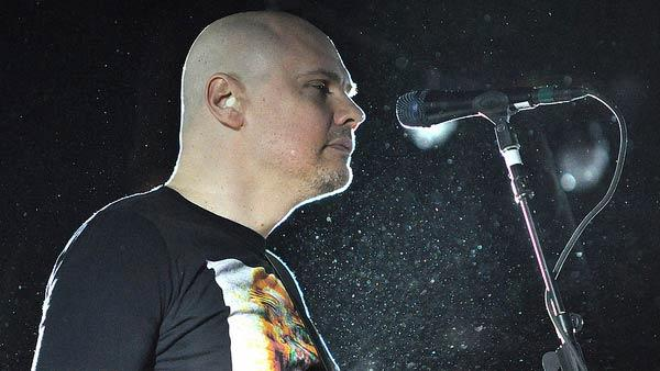 Billy Corgan performs with the Smashing Pumpkins at Razzmatazz in Barcelona, Spain on Dec. 6, 2011.