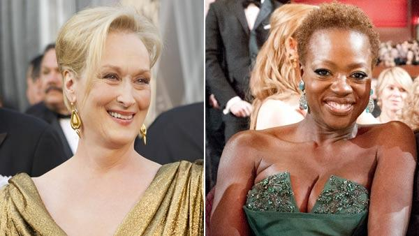 Meryl Streep and Viola Davis appear the 84th Academy Awards on Sunday, Feb. 26, 2012, in the Hollywood section of Los Angeles. - Provided courtesy of A.M.P.A.S.