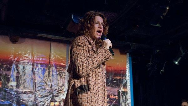 Sandra Bernhard sings 'Walk on the Wild Side' at The UCB Theatre in Los Angeles on Dec. 14, 2011.