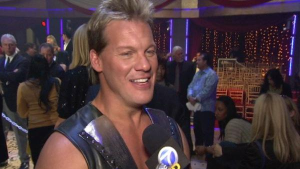 Chris Jericho speaks after the season 12 finale on 'Dancing With The Stars: The Results Show' on May 24.