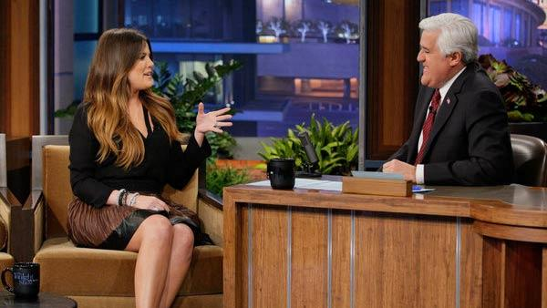 Khloe Kardashian appears on an episode of The Tonight Show which aired on Feb. 28, 2012. - Provided courtesy of NBC