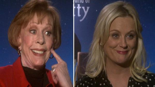 Carol Burnett sings, jokes with Amy Poehler