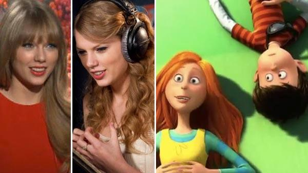 Taylor Swift talks 'heavenly' 'Lorax' role