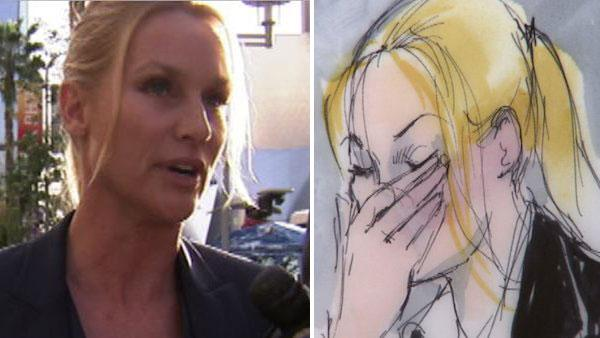 Nicollette Sheridan begins 'Housewives' trial