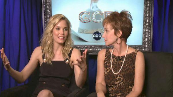 Leslie Bibb and Annie Potts talk fun dynamic on 'GCB'