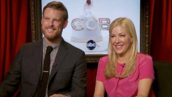 Jennifer Aspen and Brad Beyer talk 'hot men' on 'GCB'