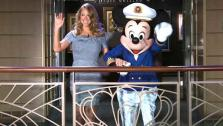 Mariah Carey attends the christening of the Disney Fantasy cruise ship in NY on March 1, 2012. - Provided courtesy of none / Walt Disney Company