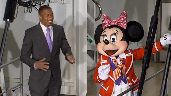 Nick Cannons attends the christening of the Disney Fantasy cruise ship in NY on March 1, 2012.